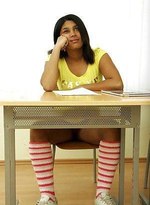Latinas in Socks Pics